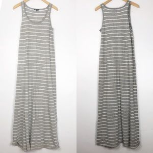 Vince Striped Soft Maxi Dress